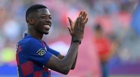 Dembélé ya tiene el alta médica. AFP