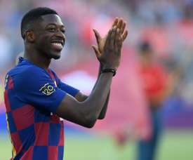 Boateng hits out at Dembele for lack of commitment. AFP