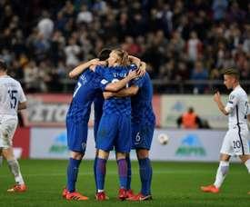 A Croácia jogará o Mundial'2018. AFP