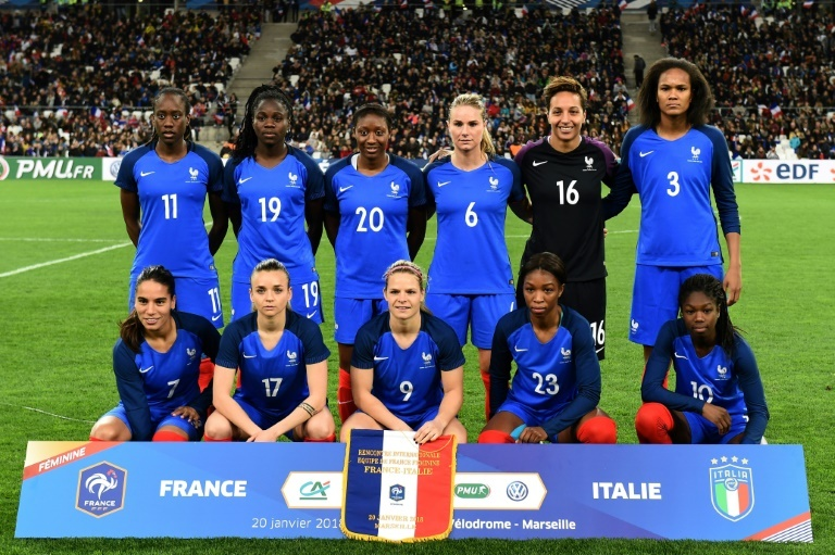 Les Bleues affronteront le Nigeria et le Canada en avril en amical