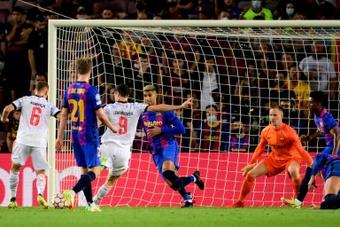 Le vestiaire du Barça, surpris et critique envers Koeman. AFP