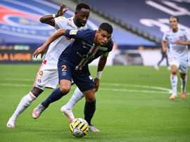Thiago Silva veut poursuivre l'aventure au PSG. AFP