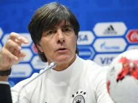 Joachim Low says he is proud of his Germany team. AFP