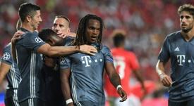 Renato Sanches não consegue brilhar na Bundesliga. AFP