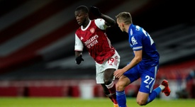 Arsenal lost 0-1 to Leicester. AFP