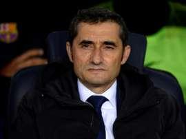 Valverde devra faire avec les moyens du bord. AFP