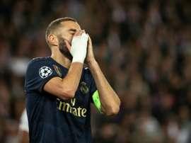 Zidane, Benzema e a substituição da discórdia. AFP