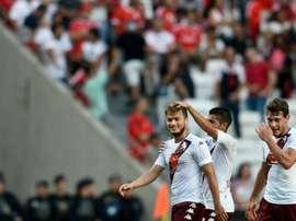 El Torino está disfrutando de victorias gracias a la gran efectividad de sus delanteros. AFP