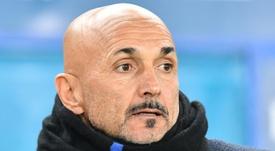L'entraîneur de l'Inter Milan Luciano Spalletti lors du match face au Chievo Vérone le 23 décembre 2018