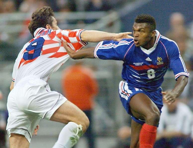 En 1998, Francia dejó sin sueño a Croacia. AFP