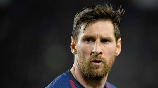 Lionel Messi is looking to win another treble at Barcelona. AFP