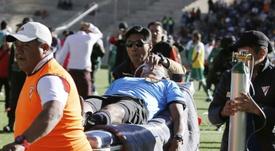La mort d'un arbitre rouvre le débat sur les matches de foot en altitude. AFP