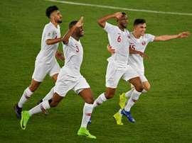 Premier titre du Qatar. AFP