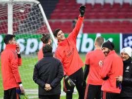 Le vestiaire du Real Madrid préfère la qualification de l'Atletico. AFP