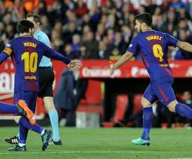 Mesmo no fim, o Barça lá arrancou 1 ponto. AFP