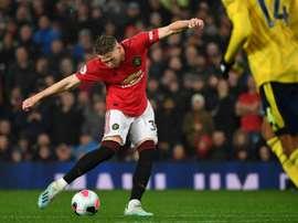 Un actionnaire de Manchester United envisage de vendre ses parts. AFP