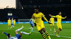 Mesmo com um a menos, o Dortmund vence em Berlim. AFP