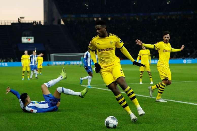 Dortmund - Hertha: onzes iniciais confirmados