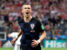 Perisic scored in the World Cup final for his country. AFP
