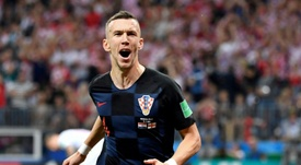 Perisic is valued at £50m. AFP