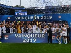 La FFF décerne officiellement le titre à Lyon. AFP