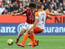 Nice résilie le contrat de Lamine Diaby-Fadiga. AFP