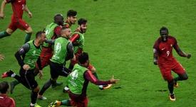 Eder no supo encarrilar su carera tras ser el héroe de la final de la Eurocopa. AFP