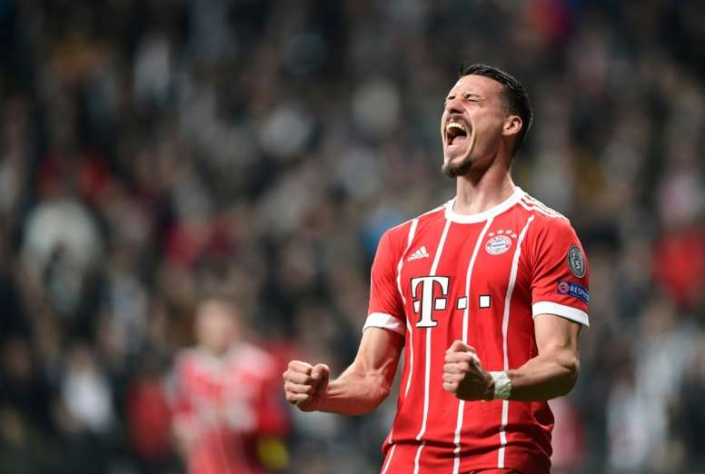 Sandro Wagner raccroche les crampons. AFP