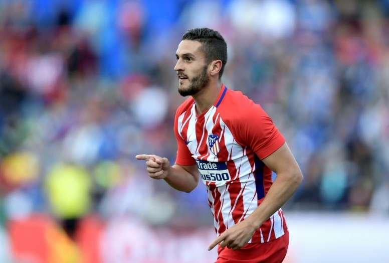 Koke será el estandarte del Atlético en Lyon. AFP