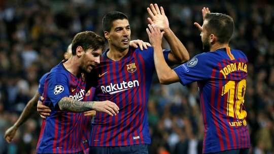 Le Barça peut égaler un record du Bayern. AFP