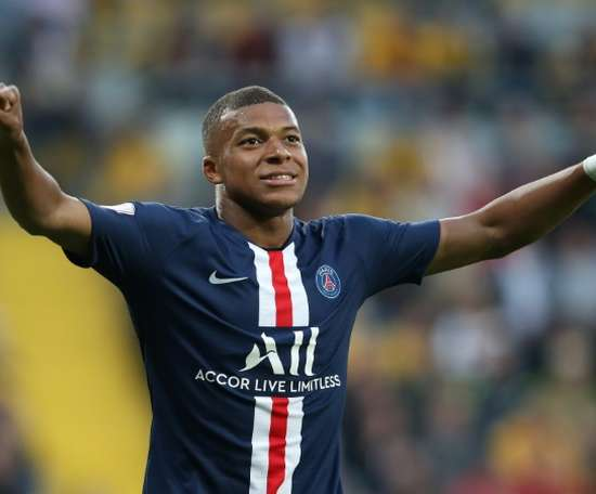 Yuri believes Mbappe will end up at Real Madrid. AFP