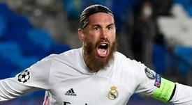 Ramos sigue sin renovar. AFP