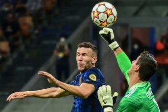 Courtois analizó el triunfo del Real Madrid. AFP