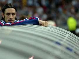 Robert Pires lors d'un match de qualification pour le Mondial-2006 au Stade de France. AFP