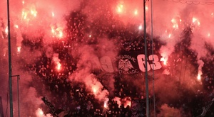 L'Olympiakos s'impose chez le Paok dans un match sous haute sécurité. AFP