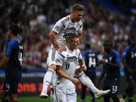 Kroos descansará hasta el viernes. AFP