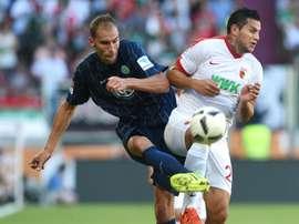 Bobadilla, nuevo jugador del Anrgentinos Juniors. AFP