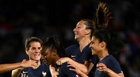 Les Françaises battent la Chine en match de préparation au Mondial. AFP