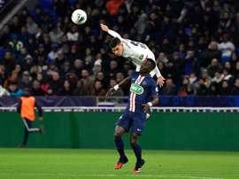 Guimaraes livre ses premières impressions sur la Ligue 1. AFP