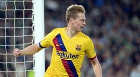 Barca won 3-2. AFP