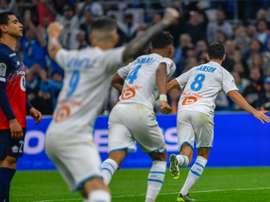 Marseille grimpe sur Lille pour toucher le podium. AFP