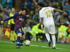 El fútbol español se jugará cada 72 horas. AFP