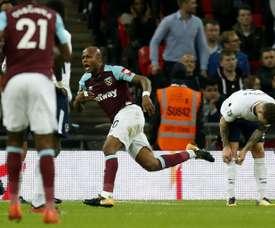 'Spurs' tinham o jogo na mão, mas perderam para o West Ham. AFP