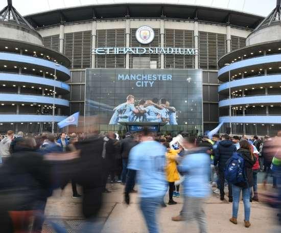 Manchester City n'aura pas recours au chômage partiel. AFP