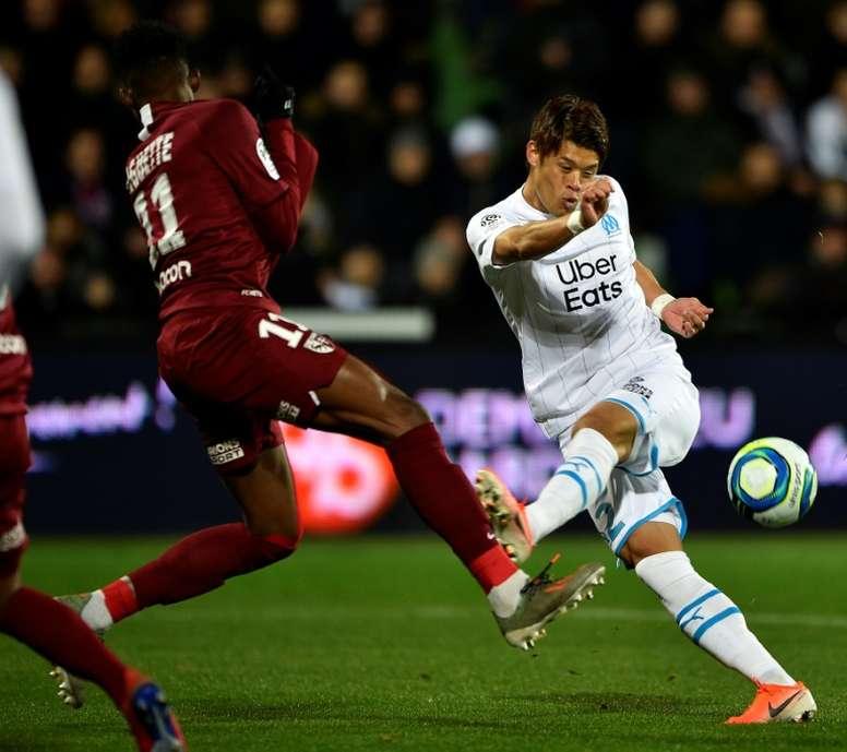 Ligue 1: Marseille sacre le Paris SG, Toulouse et Nîmes sombrent. AFP