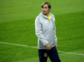 Cocu did not rule out one day coaching Barca. AFP