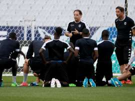 El Angers ha mostrado interés por Enzo Crivelli. AFP