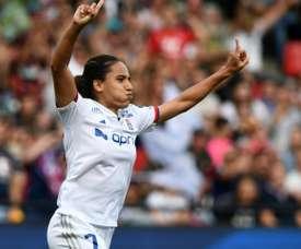 Lyon s'offre la première édition aux tirs au but face au PSG. AFP