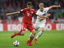 Match fou du Bayern Munich. AFP
