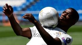 Vinícius aspira a ser clave en el Madrid. AFP